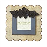 """Best CC Home Furnishings Photo Frames - Pack of 2 Vintage-Style Script 4"""" x 4"""" Review"""