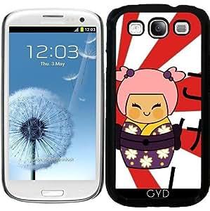 Funda para Samsung Galaxy S3 (GT-I9300) - Ayame Kokeshi by Los dibujos de Alapapaju