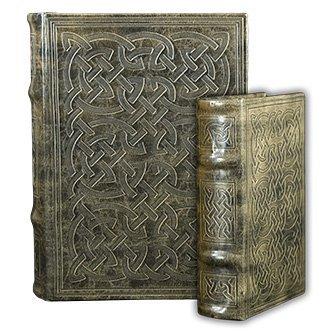 Vintage Classic Celtic Knot Motif Irish Secret Book Box Set