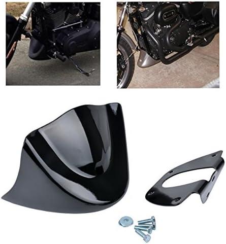 Katur Motorrad Astra Depot Matt Schwarz Kinnverkleidung Unter Frontspoilerm Air Dam Für Harley Davidson Sportster 2004 2014 Xl883 Xl1200 2004 2015 Auto