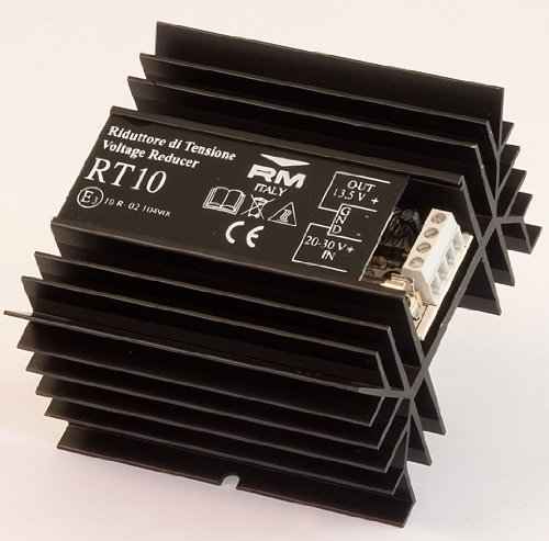 - RM Italy RT-10 24V VT Volt 12V Voltage Reducer CB/Stereo