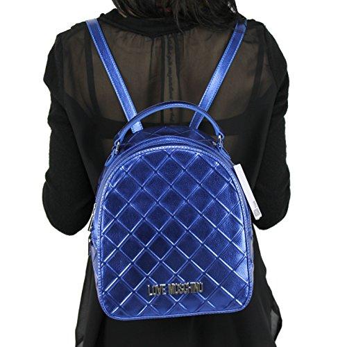 Zaino Love Moschino Blu Jc4271pp05kh0750