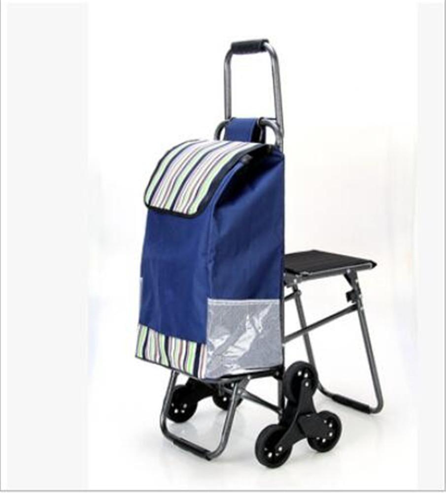 017996788 Hogar y cocina G FFJTS Carro de la compra que sube el carro plegable del  equipaje ...