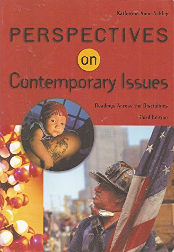 Perspectives on Contemporary Issues (with InfoTrac)