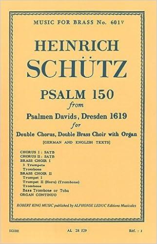 Lire PSALM 150 VOCAL SCORE(PARTIE DE CHOEUR)MFB601V pdf