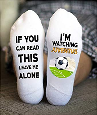 Juventus Socks Football Funny Birthday Gift Soccer Uniform