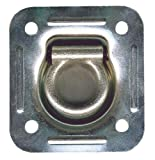 Keeper 04526 Trailer 4-7/6″ Recessed Anchor Mount Hardware, 1,666 lbs Working Load Limit