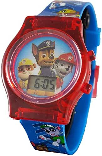 Paw Patrol Little Kid's Digital Watch with Light Up Feature PAW4068