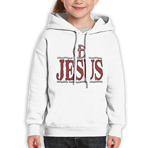 This guy/girl loves Jesus Couple Shirt (White) - 6