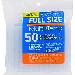 Ad-Tech 14ZIP50 Multi Temp Glue Stick (4 x 0.44-Inch), 50-Pack