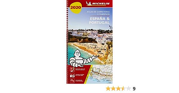 España & Portugal 2020 Atlas de carreteras y turístico Atlas de carreteras Michelin: Amazon.es: MICHELIN: Libros