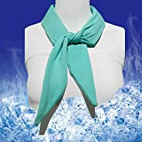 Best Cooling Scarves - HiFineCare Ice Neck Wrap, Cooling Neck Wrap, Ice Review