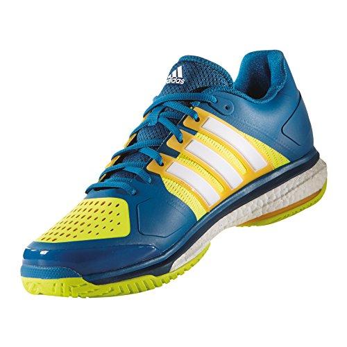 adidas Tennis Energy Boost, Zapatillas de Tenis Unisex Adulto Varios colores (Azul (Azuuni / Ftwbla / Amasol))
