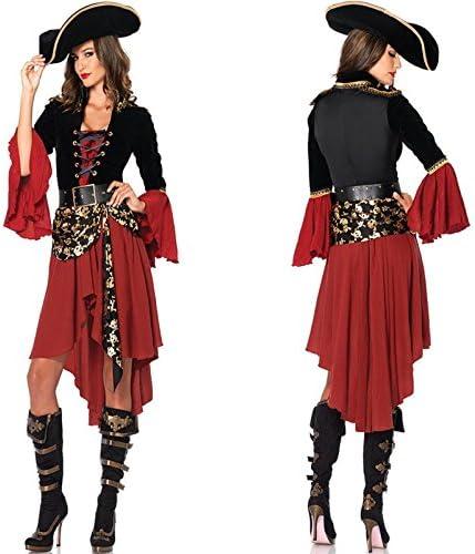 GQ de piratas del Caribe Queen vestido de disfraces de Halloween ...
