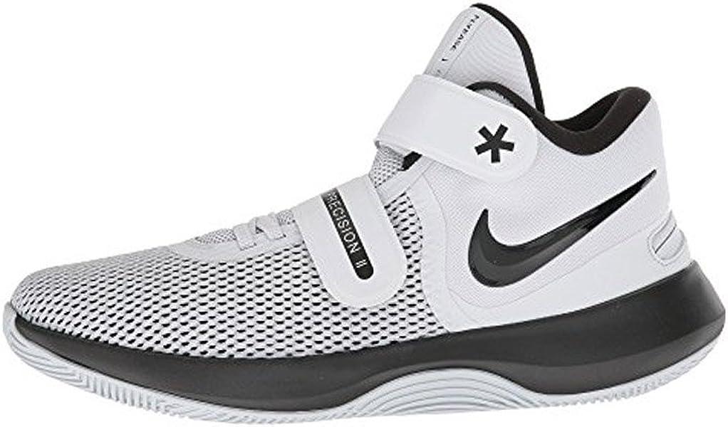 bab9a2015356 Nike Air Precision Ii Flyease Mens Aj1931-107 Size 9.5 White Black-Volt