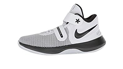 339dd452c66a2 Nike Air Precision Ii Flyease Mens Aj1931-107 Size 9 White/Black-Volt