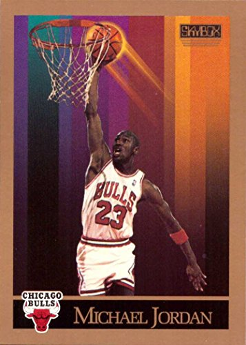 1990-91 Skybox #41 Michael Jordan Basketball Card Chicago Bulls (Jordan Basketball Michael Cards)