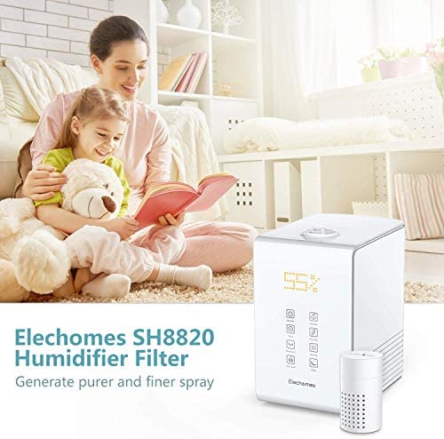 Elechomes Humidifier Replacement Filter for SH8820 SH8830 Humidifiers, Works for Other Brands As Well