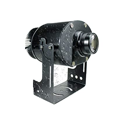 AHWZ 65W LED Logo GOBO Proyector Luz Exterior IP65 Impermeable ...