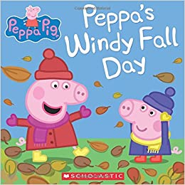 Image result for peppa pigs windy fall day