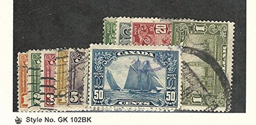 Canada, Postage Stamp, 149-159 Used Set, 1928-29