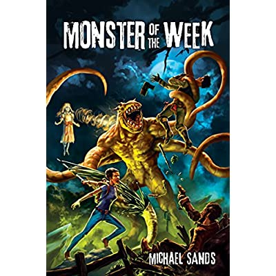 Monster of the Week Game: Michael Sands, Steve Hickey: Toys & Games