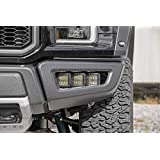 Rough Country - 70700 Triple LED Fog Light Kit | Ford 17-18 F-150 Raptor
