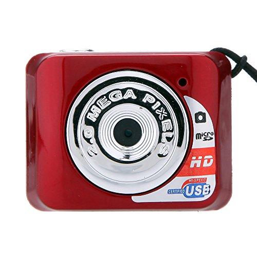 Andoer X3 Portable Ultra Mini HD High Denifition Digital Camera Mini DV Support 32GB TF Card with Mic