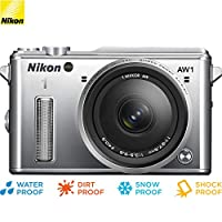 Deals on Nikon 1 AW1 14.2MP Waterproof Camera w/11-27.5mm Lens Refurb