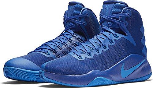 NIKE Hyperdunk 2016 Game Royal/Photo Blue/Black Men's Basketball Shoes Size 12