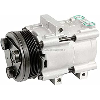 AC Compressor & A/C Clutch For Ford E-150, E-250 And Excursion - BuyAutoParts 60-01389NA New