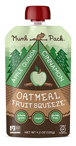 Oatmeal Fruit Squeeze (Apple Quinoa Cinnamon, 6 Pack)