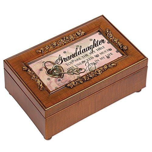 Petite Rose Granddaughter Music Box (Music Granddaughter Box)