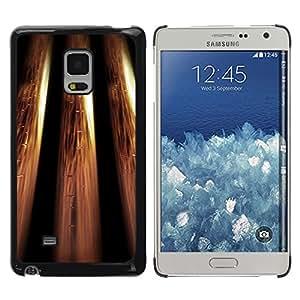 KOKO CASE / Samsung Galaxy Mega 5.8 9150 9152 / el bling metálica diseño de papel tapiz de oro / Delgado Negro Plástico caso cubierta Shell Armor Funda Case Cover