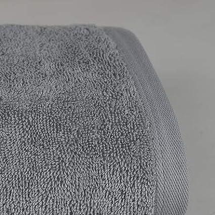Sensei Maison 1 Face Cloth 1 Hand Towel Supreme 3-Piece Terry Towel Set Soft and Absorbent Linen 1 Large Bath Towel Oeko-Tex /® Certified 100/% Cotton Colour pearl grey