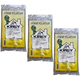 6 Kirby ODOR FIGHTER Micron Magic with Charcoal Filtration Allergen Vacuum Filter Bags for Households with Cats, Dogs, Pets, Smoke, and other unpleasant odors.