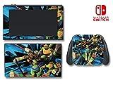 Teenage Mutant Ninja Turtles TMNT Cartoon Video Game Vinyl Decal Skin Sticker Cover for Nintendo Switch Console System