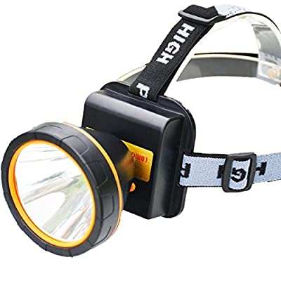 olidear LED Headlamp Torch Outdoor Rechargeable Headlight for Camping Hunting Fishing