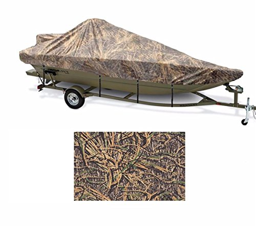 - SBU-CV 8oz Camouflage Mossy Oak SHADOWGRASS Boat Cover for Ranger Angler 1880 VS W/Walk Thru Windshield W/TM 2010-2015