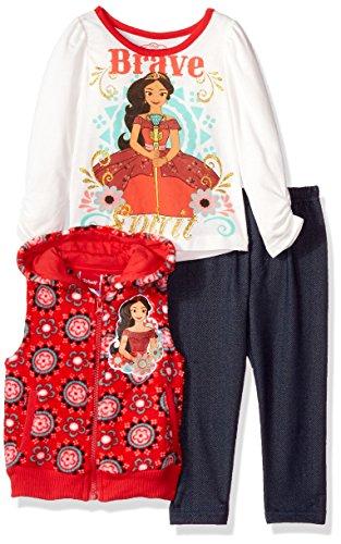 Disney Girls Toddler 3 Piece Elena of Avalor Vest Set