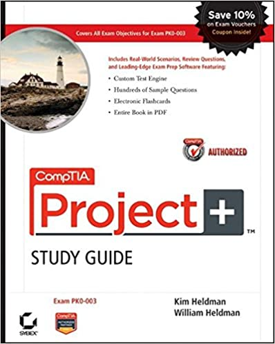 Amazon comptia project study guide authorized courseware comptia project study guide authorized courseware exam pk0 003 1st edition sciox Choice Image