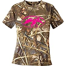 Duck Commander Youth Camo Short Sleeve T-shirt, Perfect Gift for Hunting Lovers, Duck Dynasty Fans