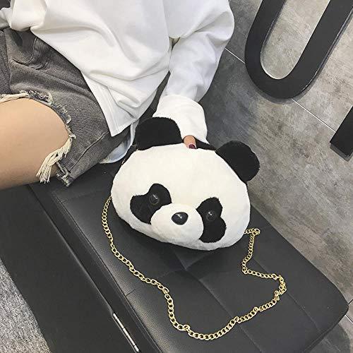 Avec Femme Styling Bandoulière Lady Métal Chaîne Animal à Bandoulière Sac Panda à Pour à Merssavo Bandoulière Girl Doré Cartoon En Sac fwIapqZ