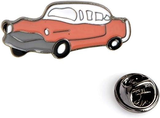 JTXZD Broche Transporte Colección Esmalte Pin Dibujos Animados ...