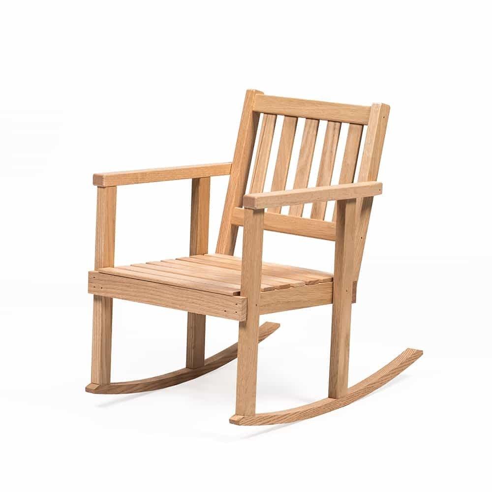 Handcrafted Eli & Mattie Amish-Made Lil' Rocking Chair