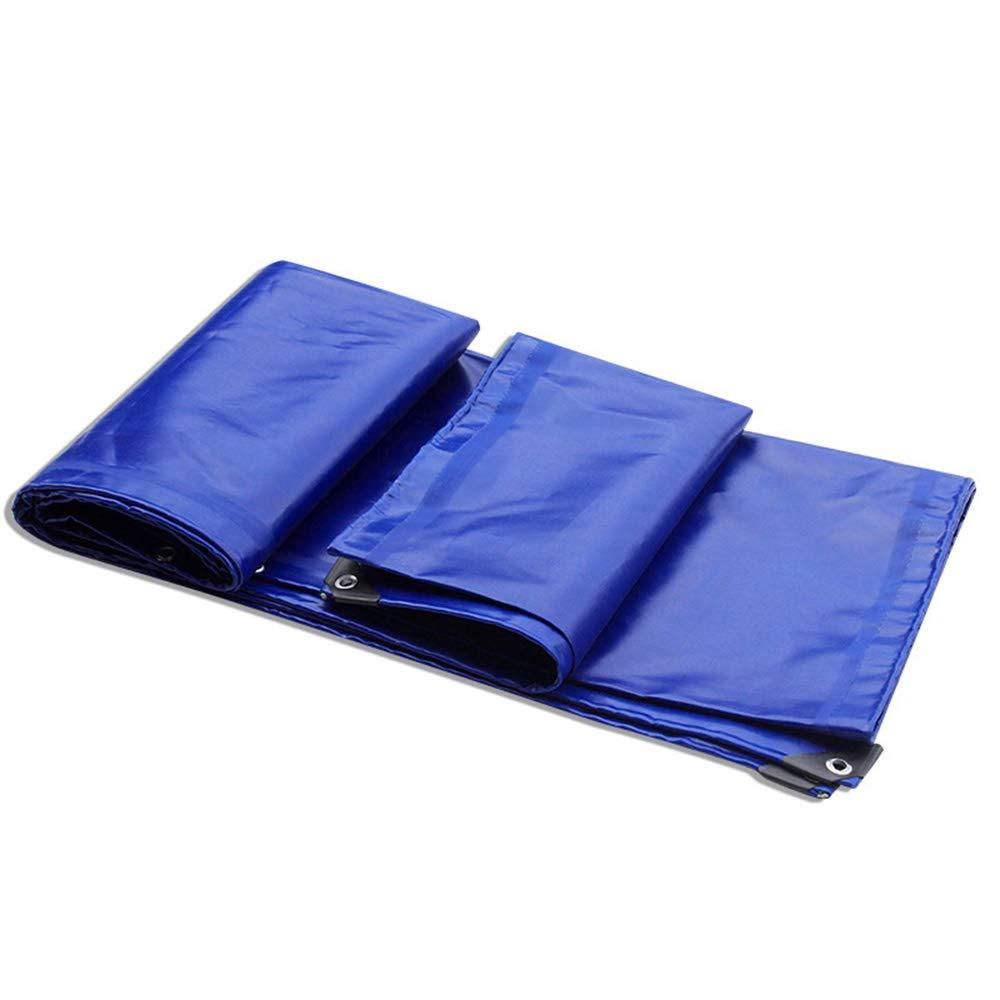 防水シート、厚さ0.6 mm PVCコーティングテープ650 g/m 2防水および雨防止日焼け止めキャンバス 3 × 4 m  B07PS7MFK7