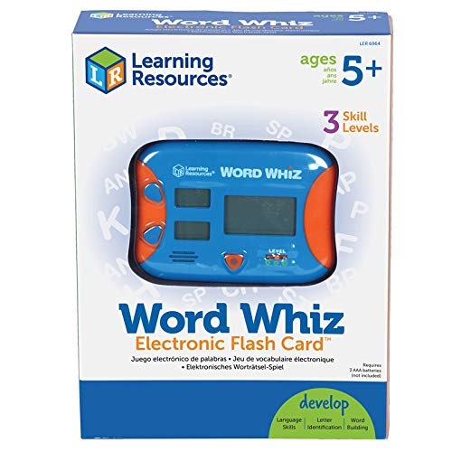 Buy learning resources word whiz electronic flash card