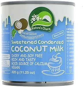 Natures Charm Leche De Coco Condensada 320ml | Sin lactosa (Pack de 1): Amazon.es: Alimentación y bebidas