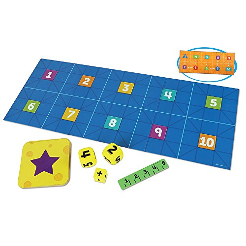 Go Robots - Learning Resources Code & Go Robot Mouse Math, 16 Pieces