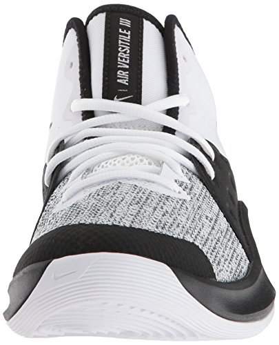 Adults Multicolour Air Shoes Basketball NIKE 100 Grey Black Unisex Iii White Versitile Dark RnxACnUqw